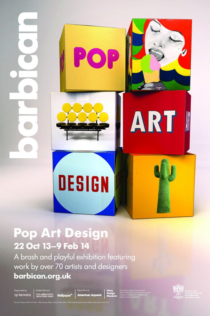 Barbican Pop Art Design